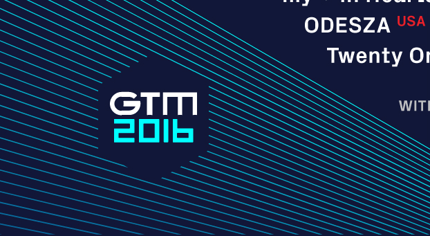GTM Set Times Are Out! |
