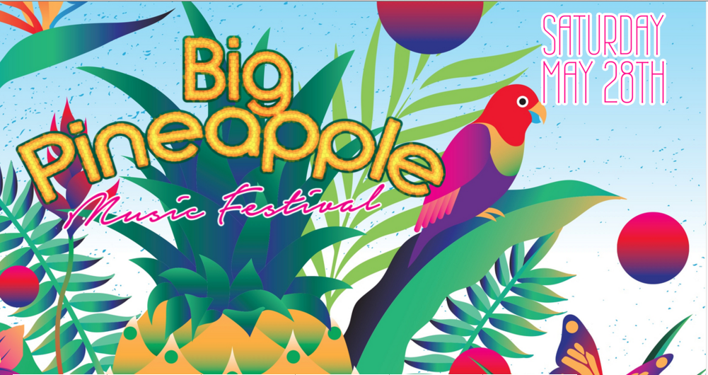 Big Pineapple Festival: Big Pineapple Music Festival Announces 2016 Lineup