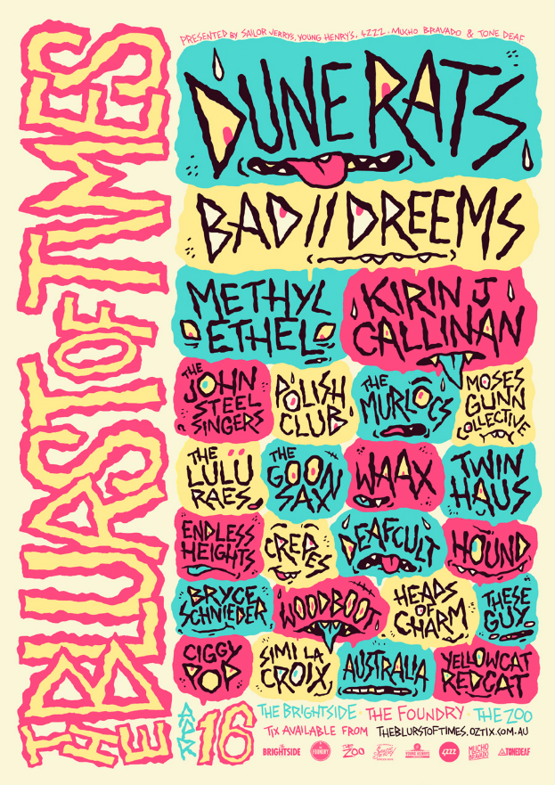 Blurst of TImes 2016 Poster