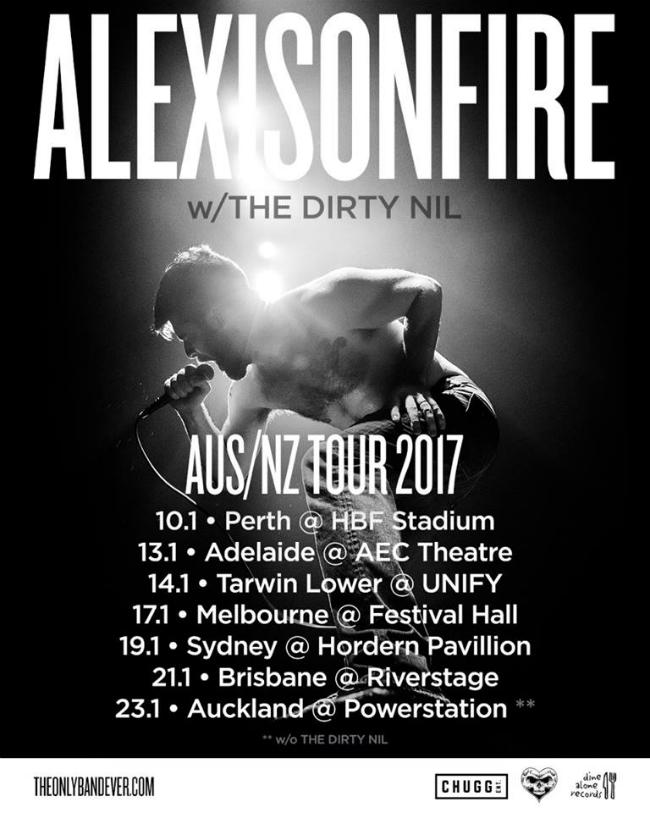 Alexisonfire Tour Tickets