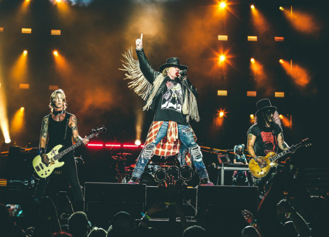 Guns n roses tour dates