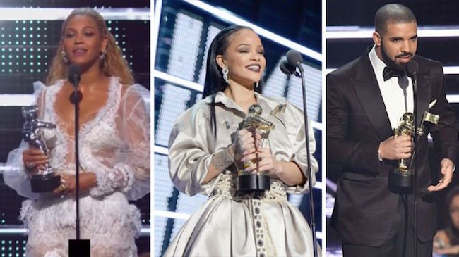 Beyoncé Dominates 2016 MTV Music Video Awards  