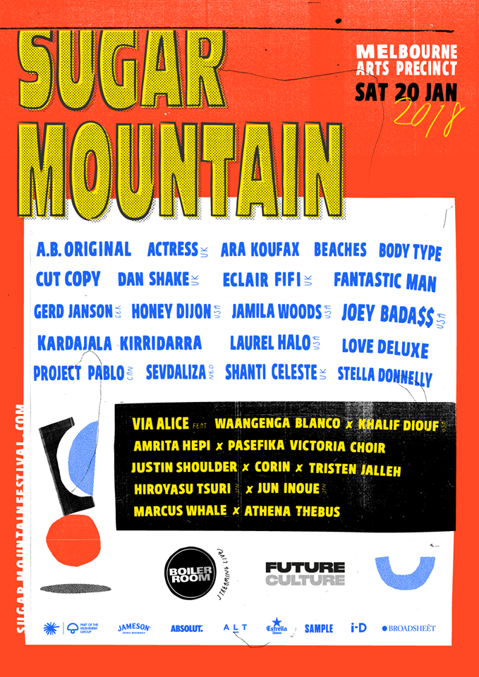 Sugar Mountain 2018 Lineup
