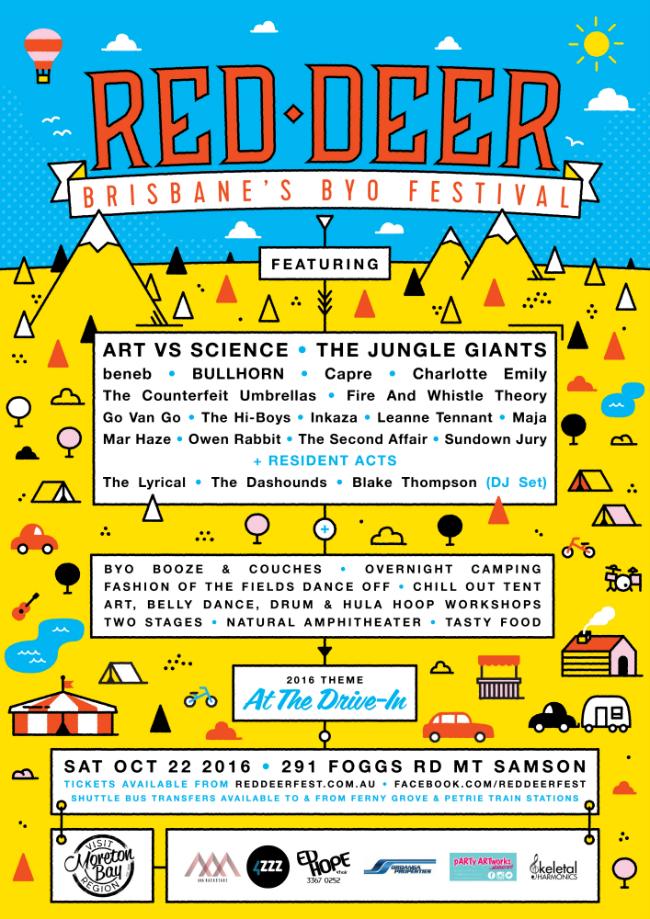 RED DEER Festival 2016 POSTER