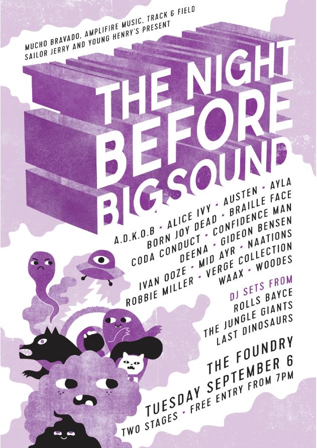 Mucho Pre BIGSOUND Poster article